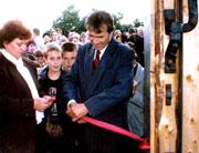 Открытие Музея-квартиры Циолковского в Боровске