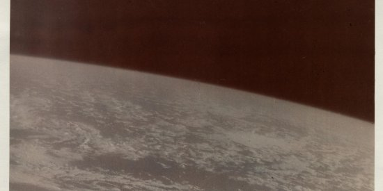 Фотографии Земли из космоса, сделанные лётчиком-космонавтом СССР К.П. Феоктистовым во время полёта космического корабля «Восход» с целью научных наблюдений.