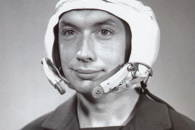 Врач-космонавт Б.Б. Егоров.