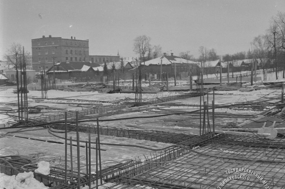 Строительная площадка Государственного музея К.Э. Циолковского