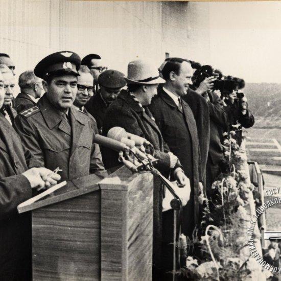 Митинг, посвященный открытию Государственного музея К.Э. Циолковского
