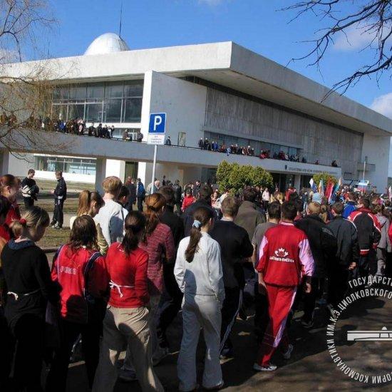 Молодежный легкоатлетический кросс и  эстафета сборных легкоатлетических команд школ города Калуги