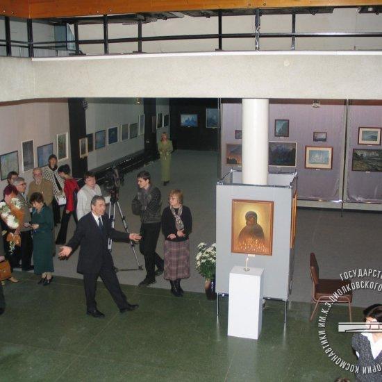 Открытие выставки произведений Б.А. Смирнова-Русецкого «Мастер прозрачности»