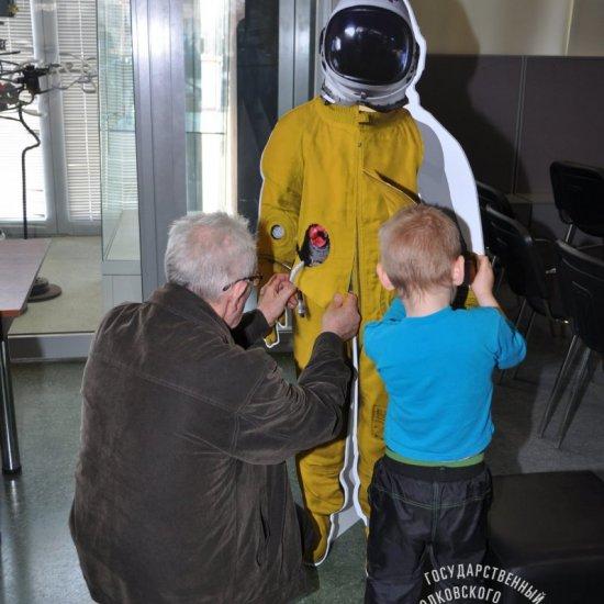 Посетители музея. 12 апреля 2015 г.