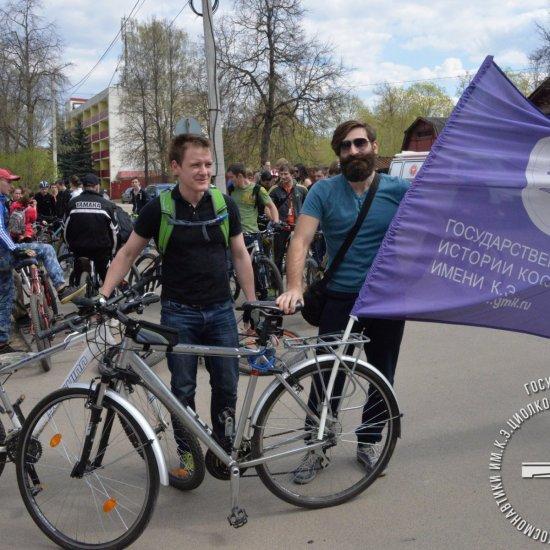 Открытие велосипедного сезона под эгидой Федерации триатлона Калужской области.