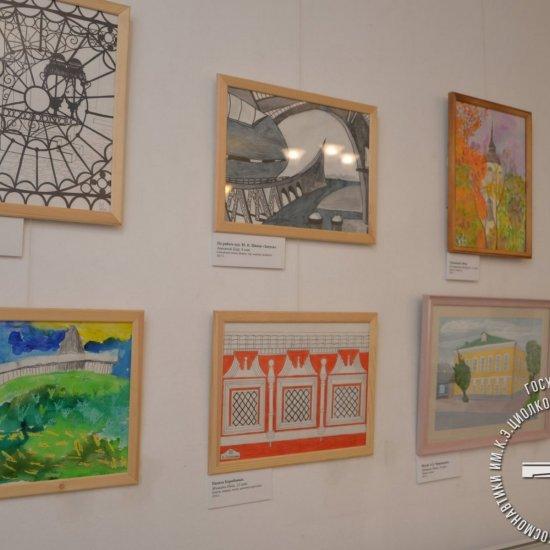 Выставка учащихся школ дополнительного образования г. Калуги «Калуга космическая» в Доме-музее А.Л. Чижевского.