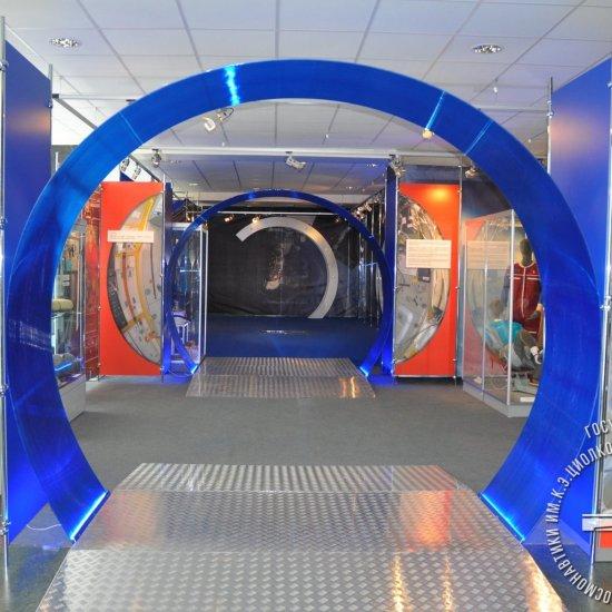 Выставка «Один день космонавта».