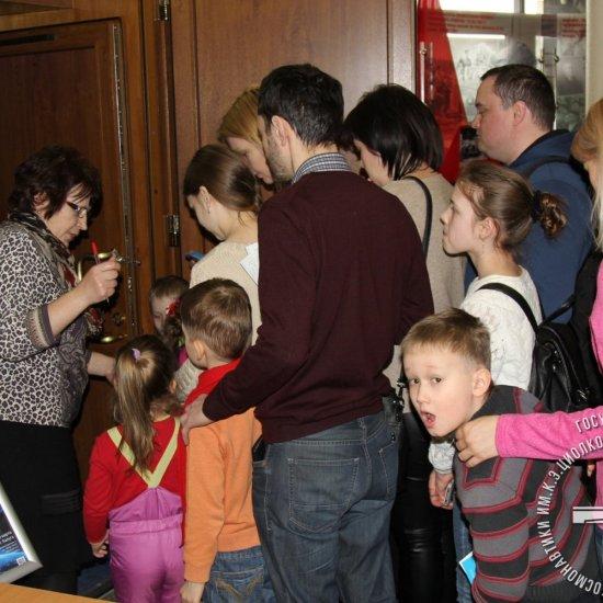 Калужане посещают программы Ярославского планетария во время гастролей планетариев.