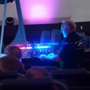 Презентация квадрокоптера (аппарата для съемки полнокупольных программ)