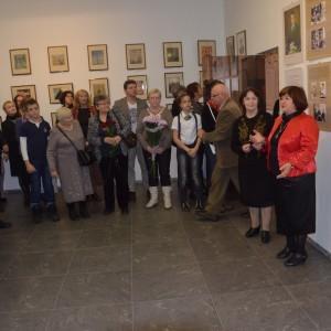 1-М.А. Трубина выступает на открытии выставки о Чижевском