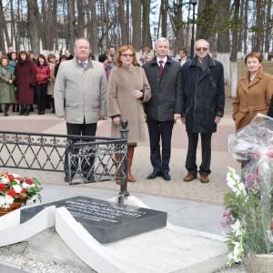 У могилы К.Э. Циолковского