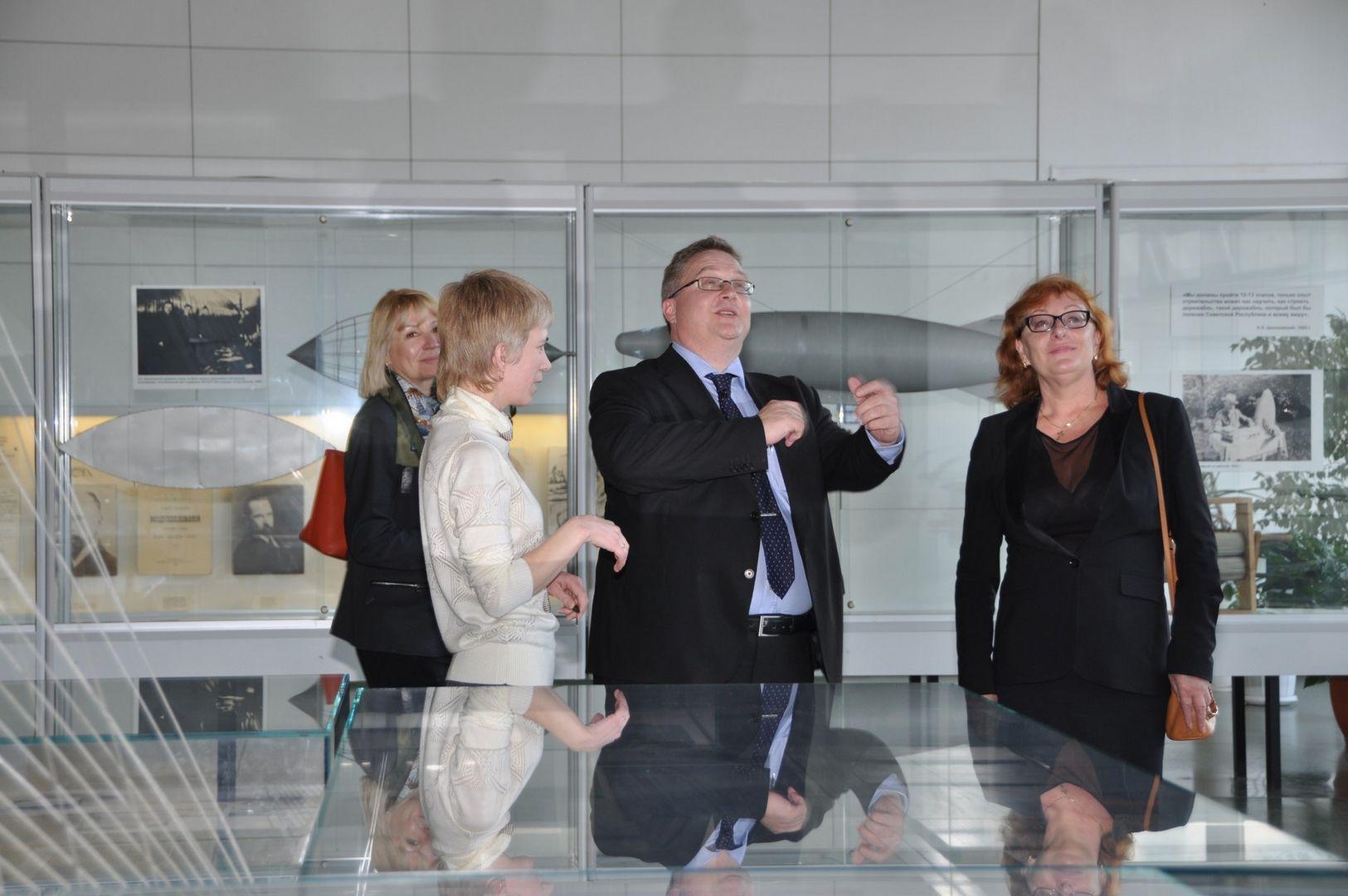 Посол Дании Томас Винклер — гость музея