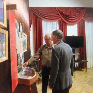 Гости из Швейцарии интересуются творчеством А.Л. Чижевского