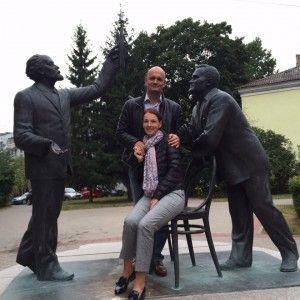 Внук С.П. Королева, А. Королев с супругой в Калуге