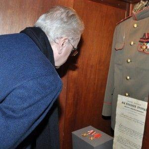 Директор Государственного Эрмитажа М.Б. Пиотровский в Доме-музее А.Л. Чижевского