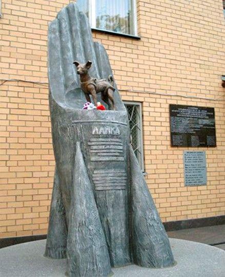 Памятник Лайке