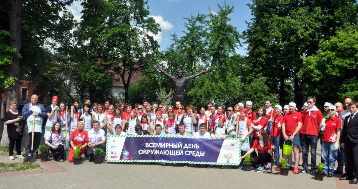 Cотрудники LG и партнеры компании при поддержке ОРКК (Объединенной ракетной корпорации) приняли участие в благоустройстве территории крупнейшего Музея истории космонавтики в России.