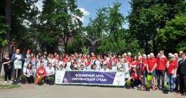 Волонтеры LG приняли участие в благоустройстве территории музея.