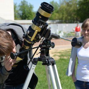 Международный День астрономии в Государственном музее истории космонавтики имени К.Э. Циолковского