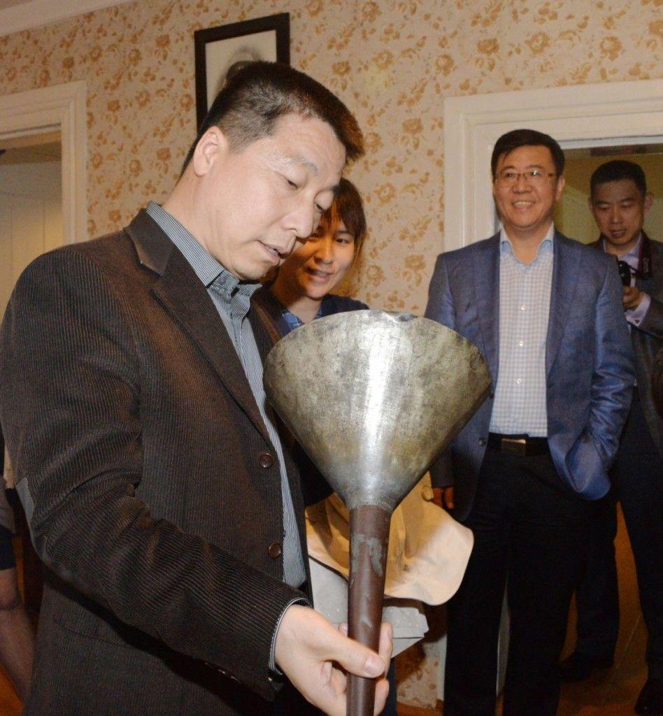 Мемориальный Дом-музей К.Э. Циолковского посетила делегация во главе с первым китайским космонавтом Ян Ливэем.