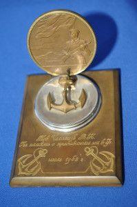 Сувенирная медаль «XXV лет Северному флоту СССР»