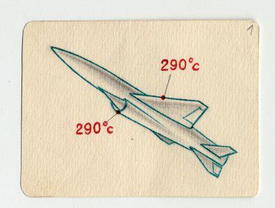 Рисунок крылатой ракеты (вероятно П-35)
