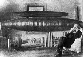 Циолковский К.Э., 1927 год