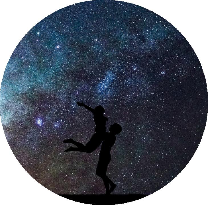 Звезды влюбленным