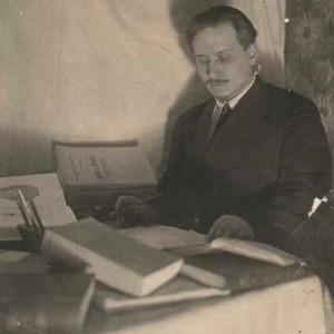 И.С. Поступальский. 1935 г. Из собрания семьи поэта