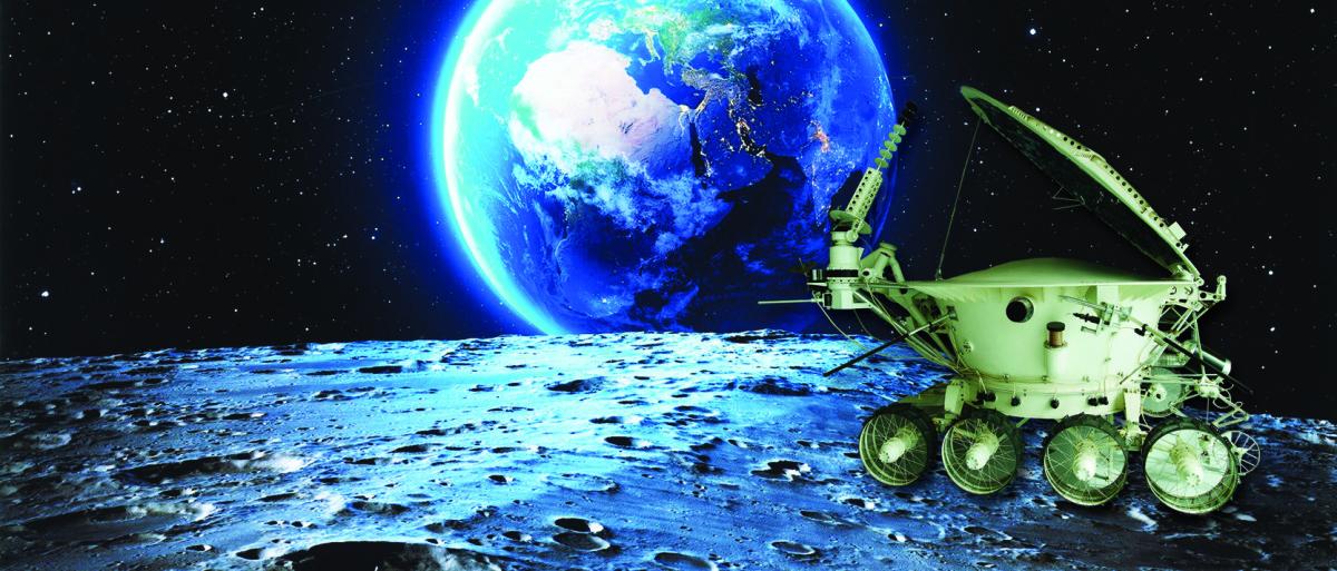 Луноход на Луне