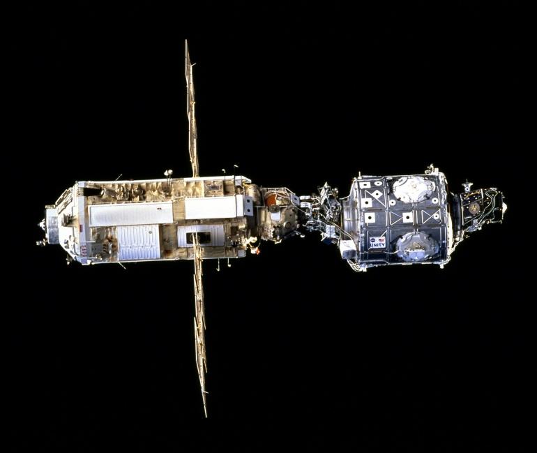 Модуль «Заря» и модуль «Юнити» - начало МКС