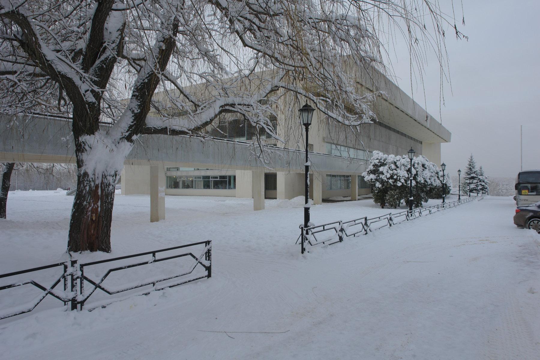 Государственный музей истории космонавтики-зима