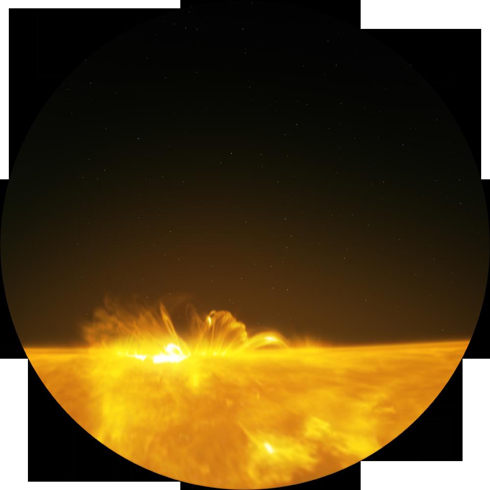 Солнце — наша живая звезда