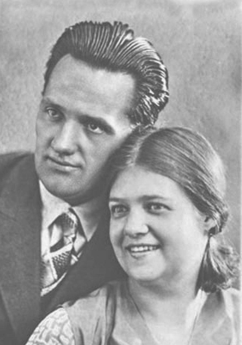 Николай Пилюгин и Антонина Лепешова.