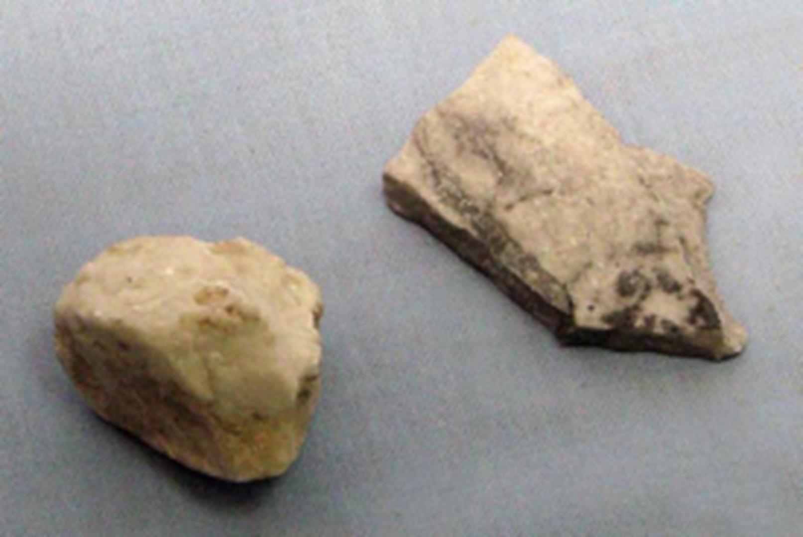Камень из штольни подземного ракетного завода Миттельверк. Германия, Нордхаузен.1942-1945 гг.