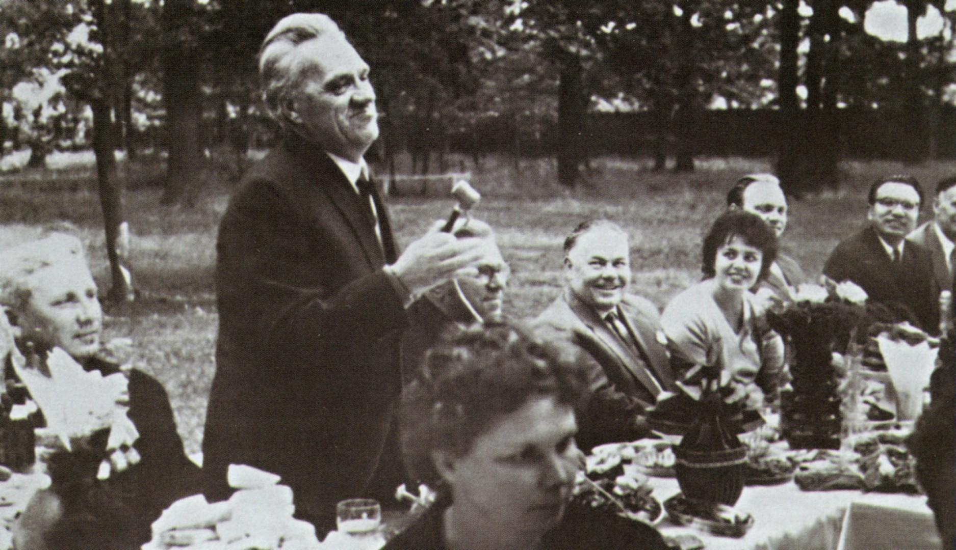 Николай Алексеевич на даче. 1978 г.