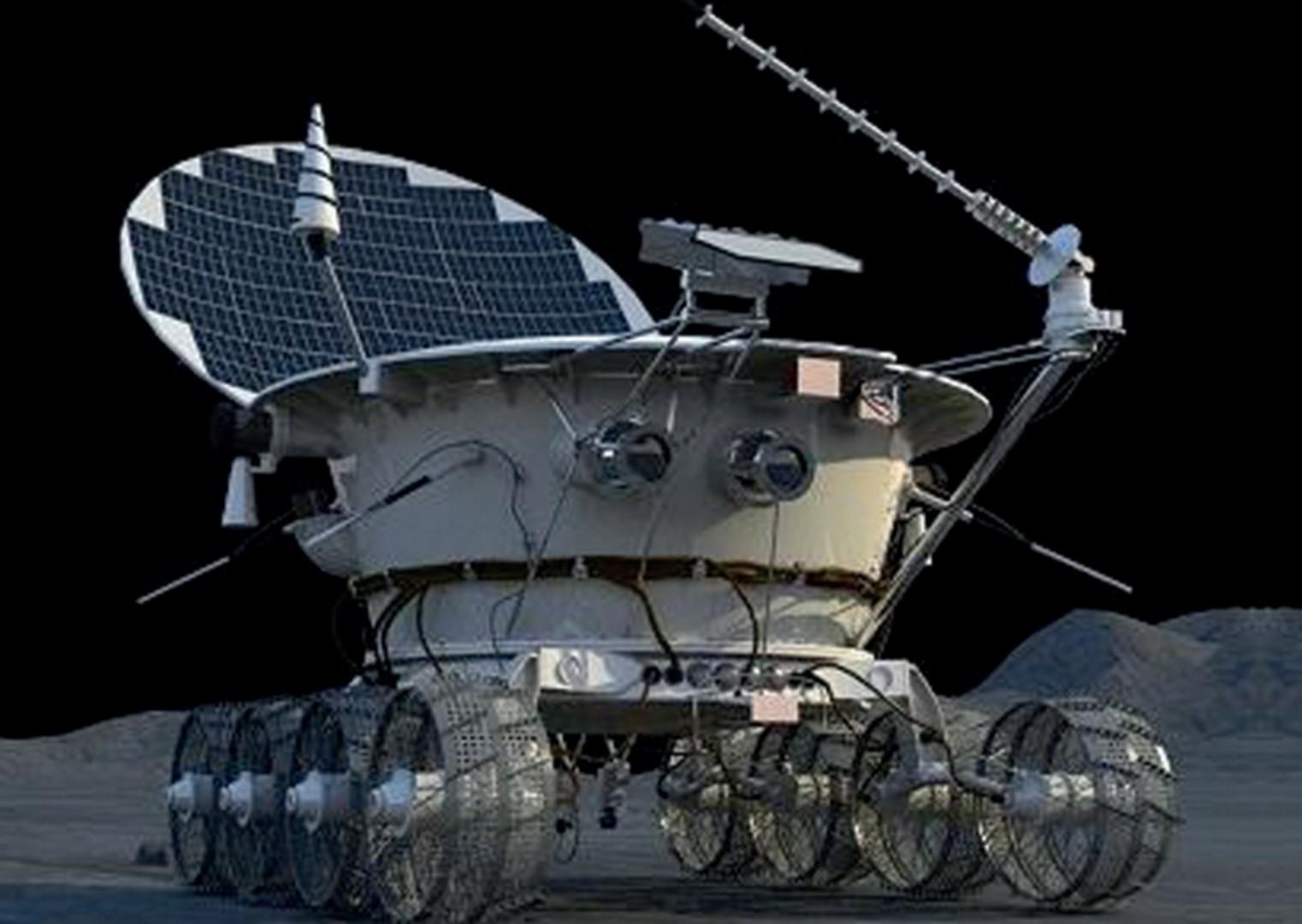 Самоходный аппарат «Луноход-1».