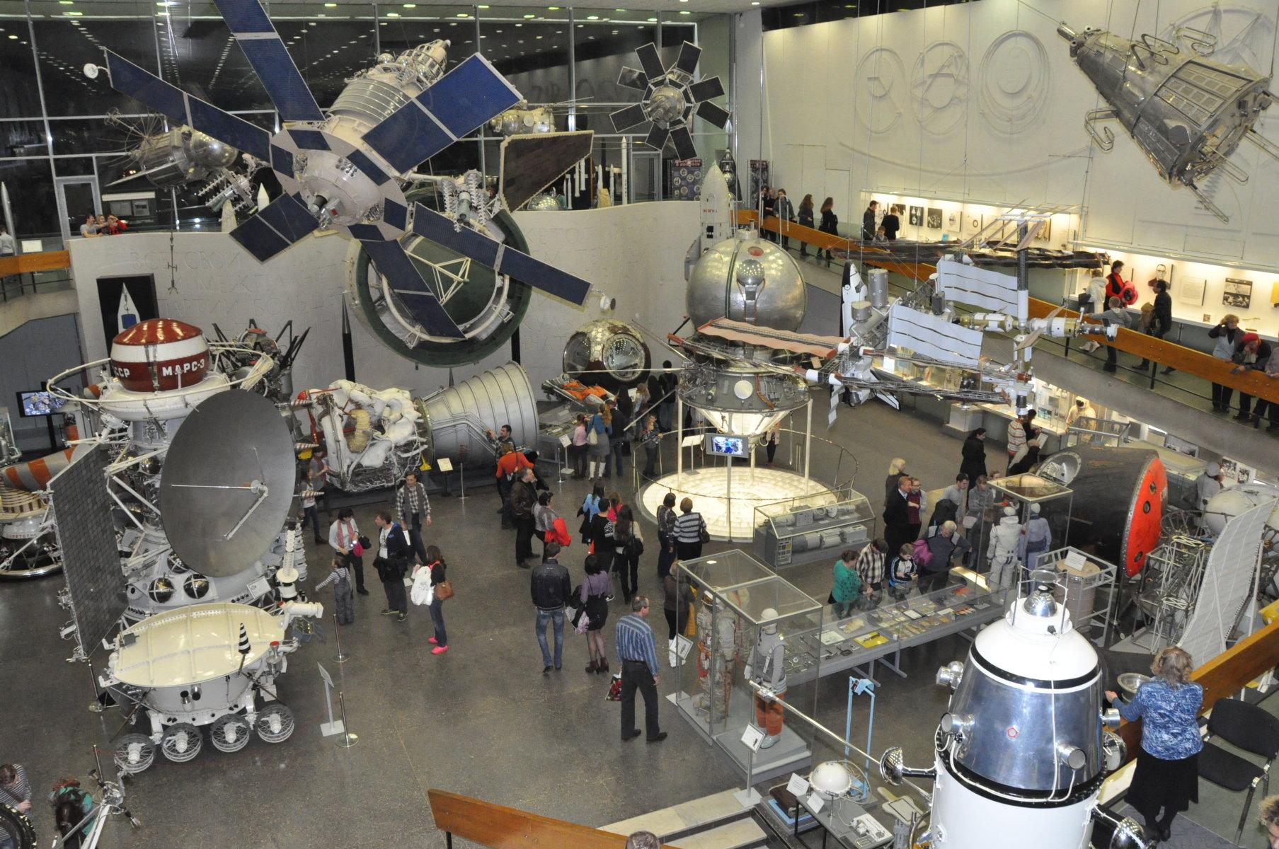 Зал ракетно-космической техники