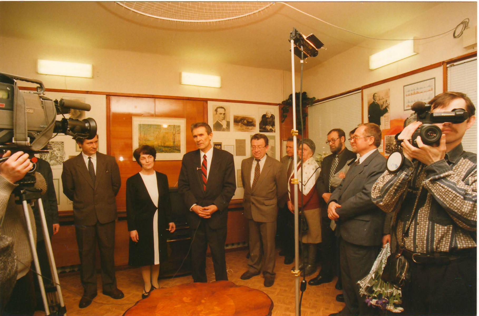 Открытие Центра А.Л. Чижевского 19 февраля 2000 г.