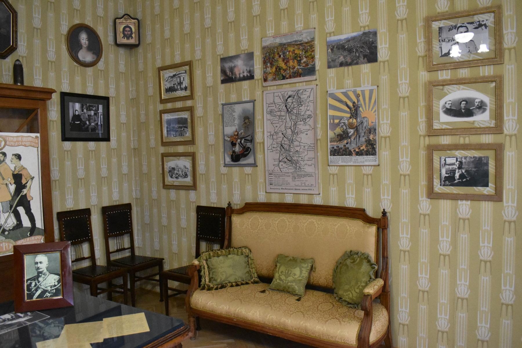 Фрагмент кабинета Л.В. Чижевского