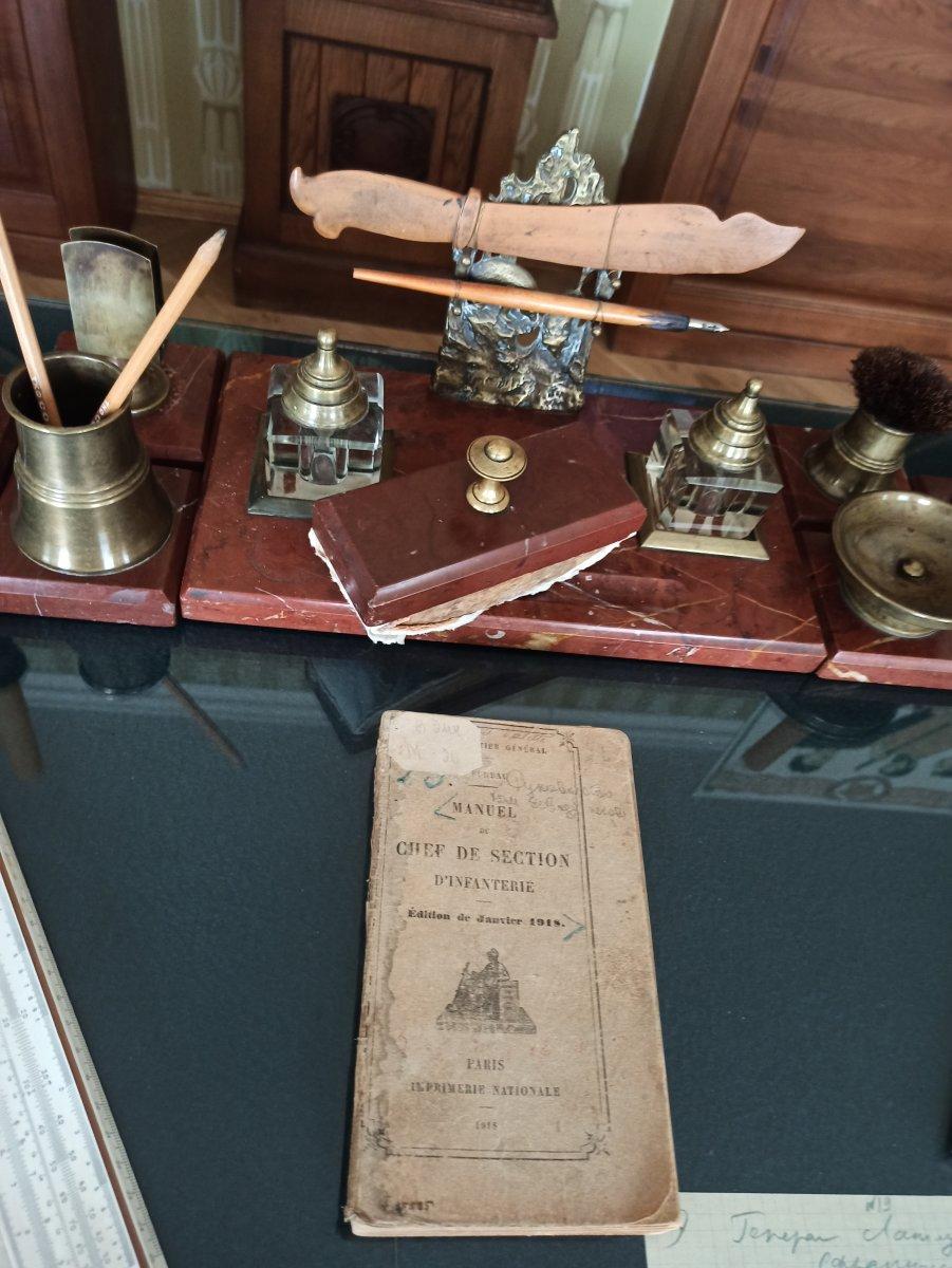 Письменный прибор (кабинет Л.В. Чижевского)
