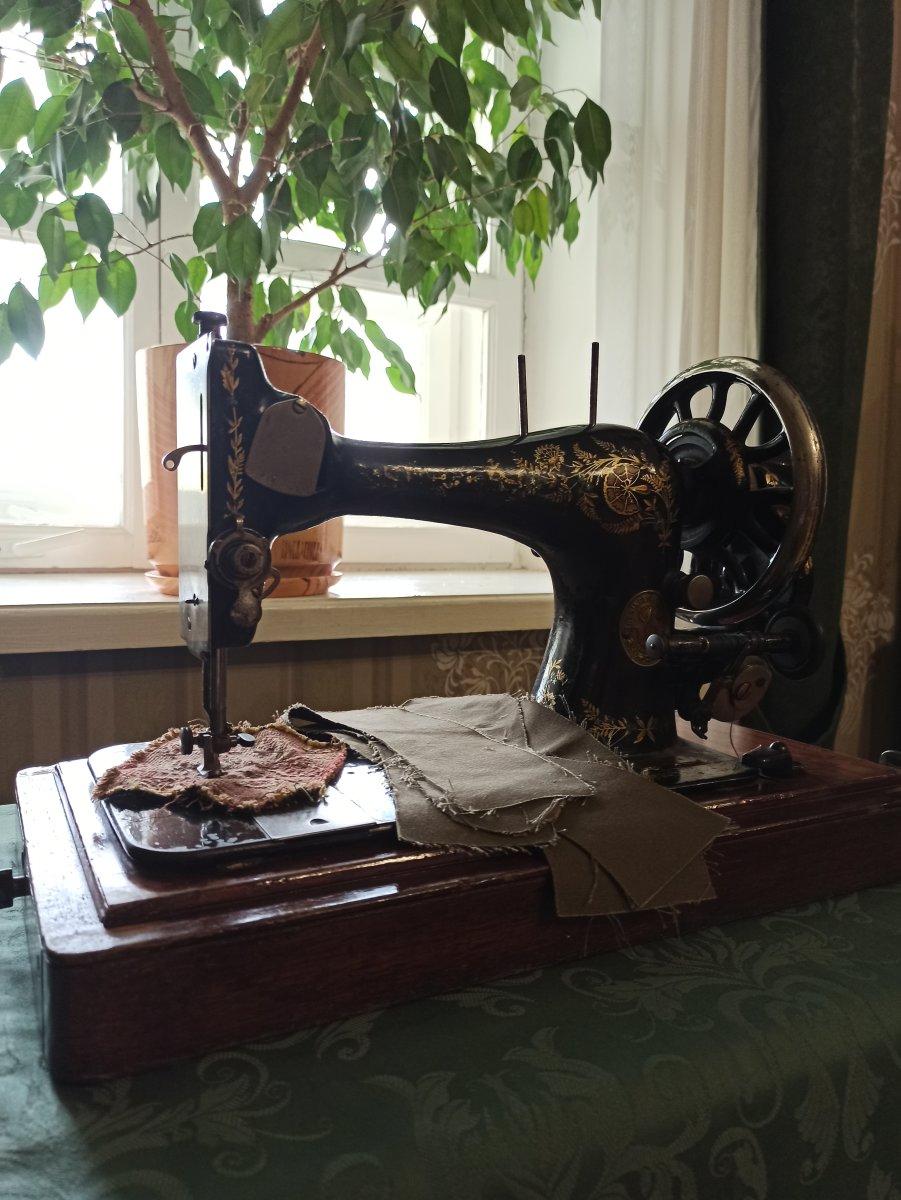 Швейная машинка SINGER, 1902 г.