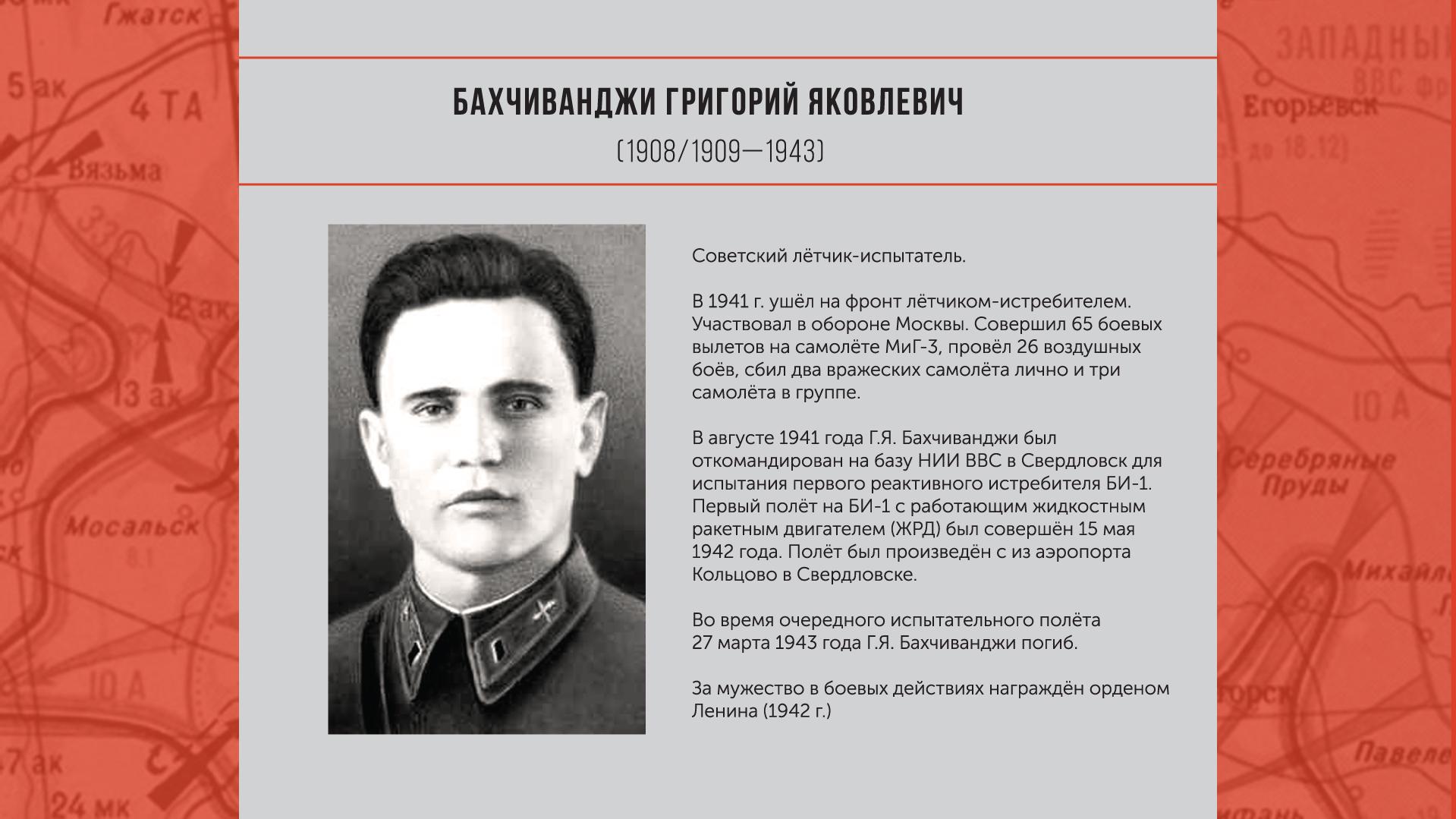 Бахчиванджи Григорий Яковлевич