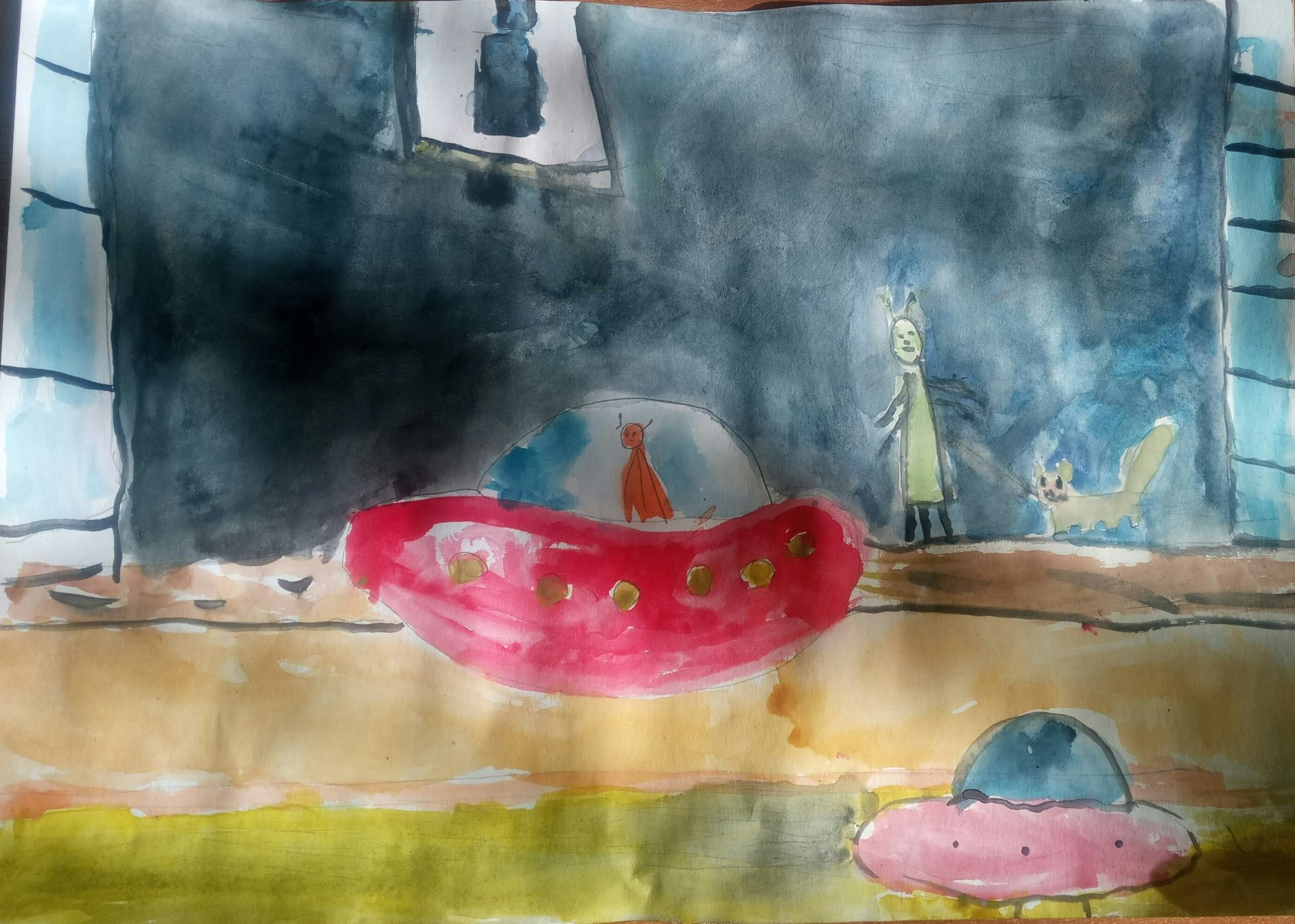 Агинская Ника, 6 лет. Дорога домой