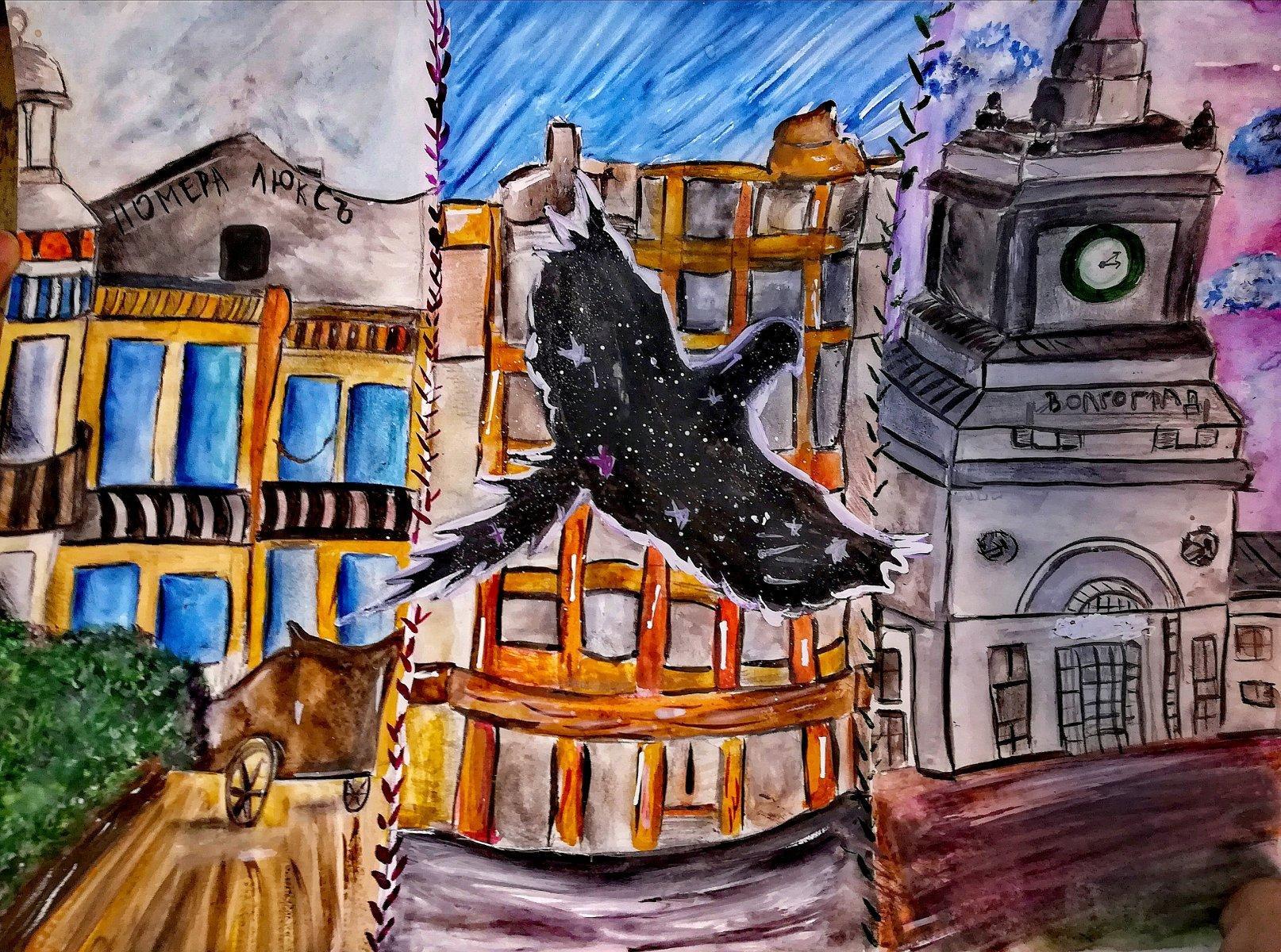 Орешкина Илона, 18 лет. Космическая птица времени