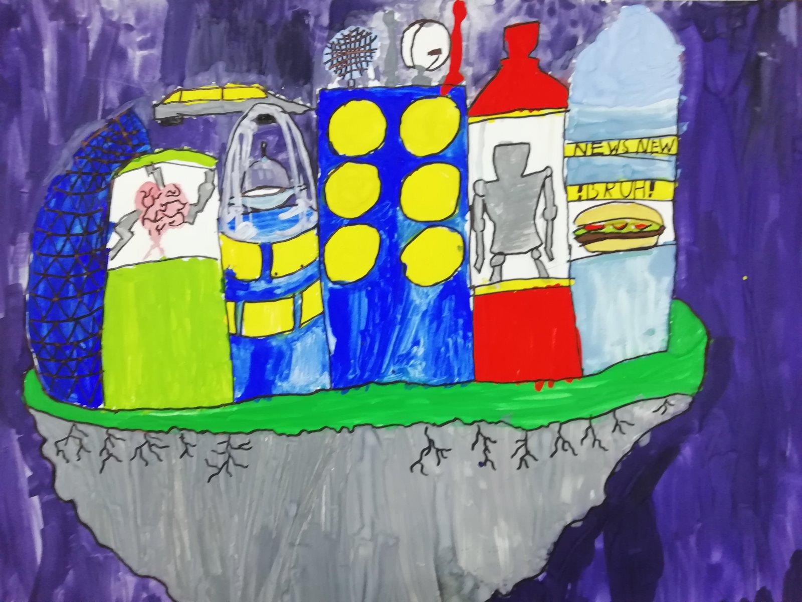 Сурин Артём, 12 лет. Космический остров