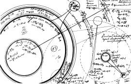 Астрономические чертежи К.Э. Циолковского