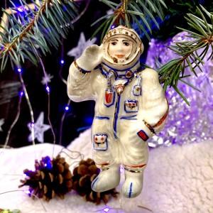 Ёлочная игрушка Космонавт