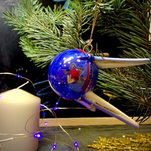 Ёлочная игрушка Спутник