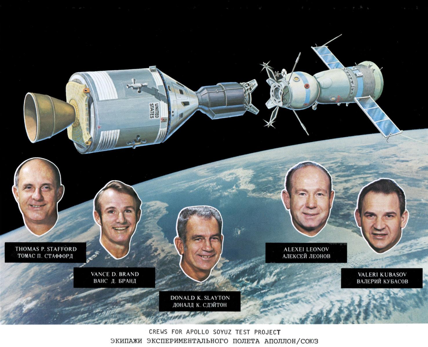 Проект «Рукопожатие в космосе»